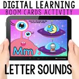 Letter Sounds: Digital Task Cards   BOOM CARDS™   Distance