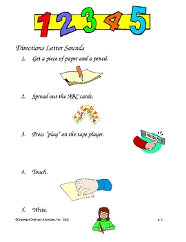 Letter Sounds (English and Spanish)