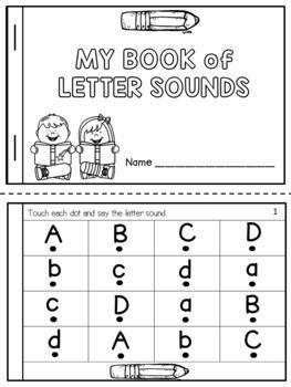 Letter Sounds Fluency Booklets
