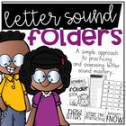 Letter Sounds Folder System for Practicing and Assessing Letter Sounds