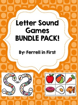 Letter Sounds Games Bundle