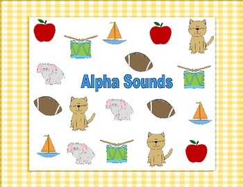 Letter Sounds Games, RTI Interventions