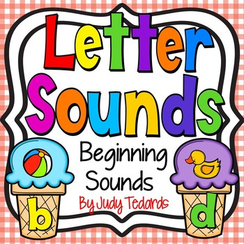 Letter Sounds (Ice Cream Cone Puzzles)