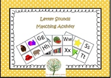 Letter Sounds Matching Activity