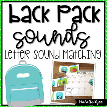 Letter Sounds Matching Center