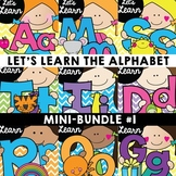Alphabet Learning {Let's Learn the Alphabet Mini Bundle 1}