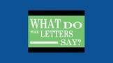 Letter Sounds Music Videos