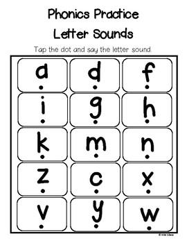 Letter Sounds - Phonics Practice