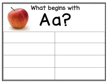 Letter Sounds:  Photograph Anchor Charts, Puzzles & Write the Room
