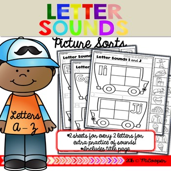 Letter Sounds Picture Sorts
