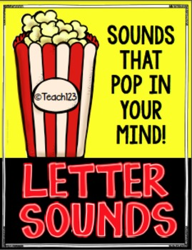 Letter Sounds Assessment, Printables, Bulletin Board