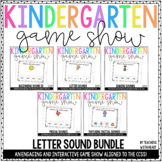 Letter Sounds PowerPoints BUNDLE