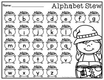 Letter Sounds Practice {Let's Make Some Alphabet Stew}