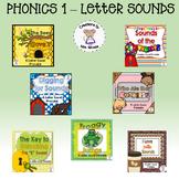 Letter Sounds Bundle 1 (Beginning, Medial, & Final Sounds)