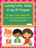 Letter Sounds RTI  / Letter Sounds Practice  / Alphabet activities
