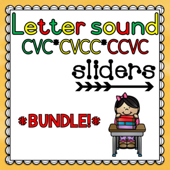 Letter Sounds Sliders (CVC/CVCC/CCVC)