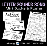 Letter Sounds Song Poster and Booklet SET (from Phonics Bundle 4)