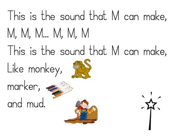 Letter Sounds Songs