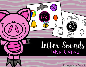 Letter Sounds - Task Cards