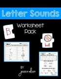 Letter Sounds Worksheet Pack