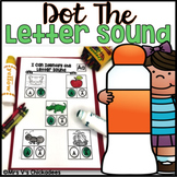 Letter Sounds Worksheets: Dot the Letter Sound