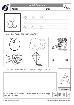 Letter Sounds and CVC Words Bundle