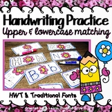 Letter Puzzles and Handwriting Practice for HWT or Traditional - 5 versions