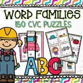 CVC Games Word Family Puzzles
