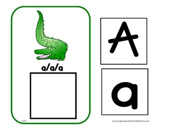 Letter Sounds and Matching cards