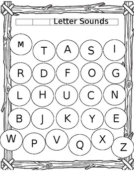 Letter Sounds self tracking