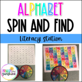 Letter Spin and Find