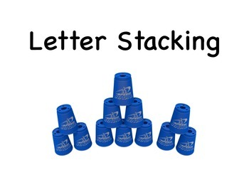 Letter Sport Stacking