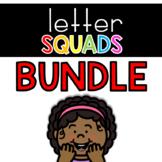 Letter Squads BUNDLE: DAILY Letter of the Week Digital Alp