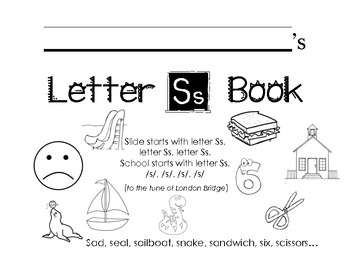 Letter Ss Activity Packet