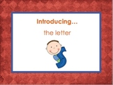 Letter Ss - Alphabet Lesson – Power Point – Interactive –