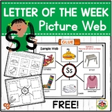 Letter Ss Letter of the Week Picture Web Activity