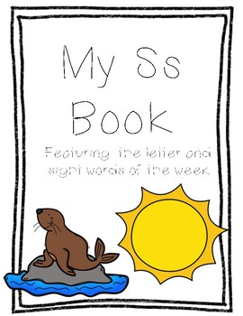 Letter Ss Book