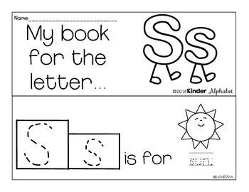 Letter Ss Booklet- Predictable Sentences