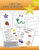 Letter Ss- (S is for Safety): Letter Zoo- Preschool Curriculum