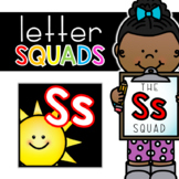 Letter Ss Squad: DAILY Letter of the Week Digital Alphabet