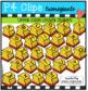 Letter Stamp BUNDLE (P4 Clips Trioriginals Clip Art)