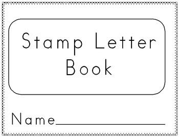 Letter Stamp Book