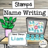 Letter Stamps Write My Name / Spell My Name Writing Center