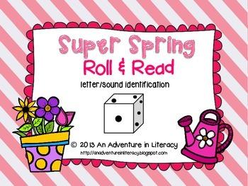 Letter Super Spring Roll & Read