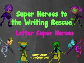 Capital Letters Superheroes Video