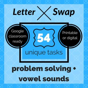 Letter Swap Tasks
