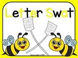 Letter Swat Literacy Center PreK-K
