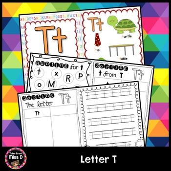 Alphabet Letter T