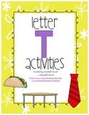 Letter T Activities