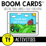 Letter T Activities BOOM CARDS™